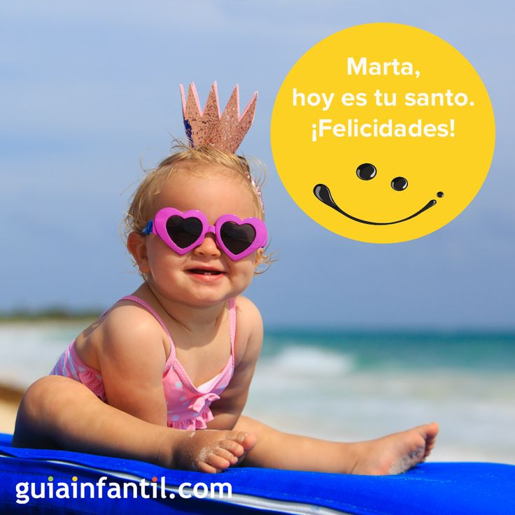 Hoy es Santa Marta, patrona de los imposibles. ¿Te llamas Marta? ¡Felicidades! http://www.guiainfantil.com/articulos/nombres/cristianos-santos/dia-de-santa-marta-29-de-julio-nombres-para-ninas/