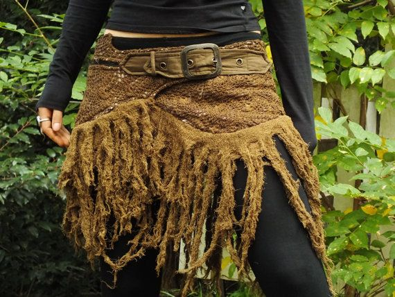 Tarazan Gypsy Hippie Goa Fairy Festival Skirt (Colour - Masala)