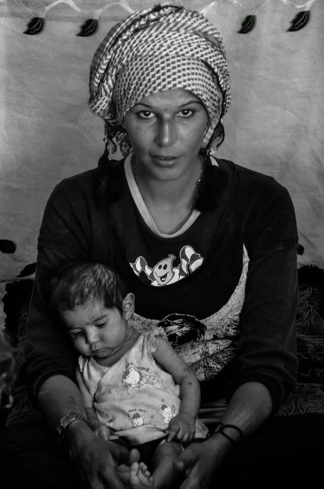 Syrian Refugees in Lebanon #narenjtree