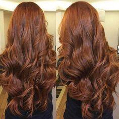 O cabelo lindo da @camilapavoni ✨ (Igora 7.77 + igora 8.77 + Ox20) #ruivo #ruiva…