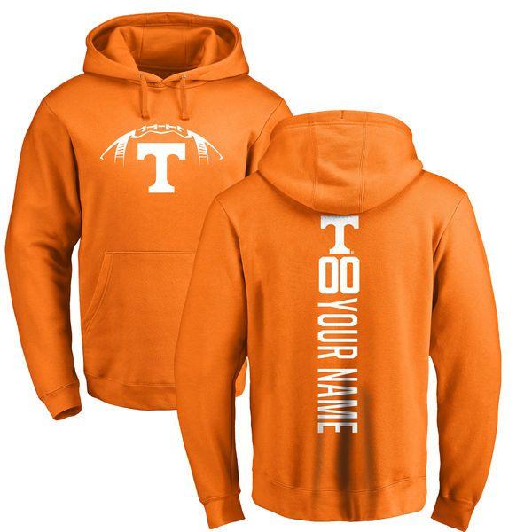 Tennessee Volunteers Football Personalized Backer Pullover Hoodie - Tennessee Orange - $69.99
