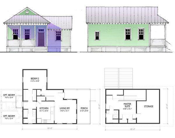 Blue Prints For Katrina Cottages Katrina Cottages Just