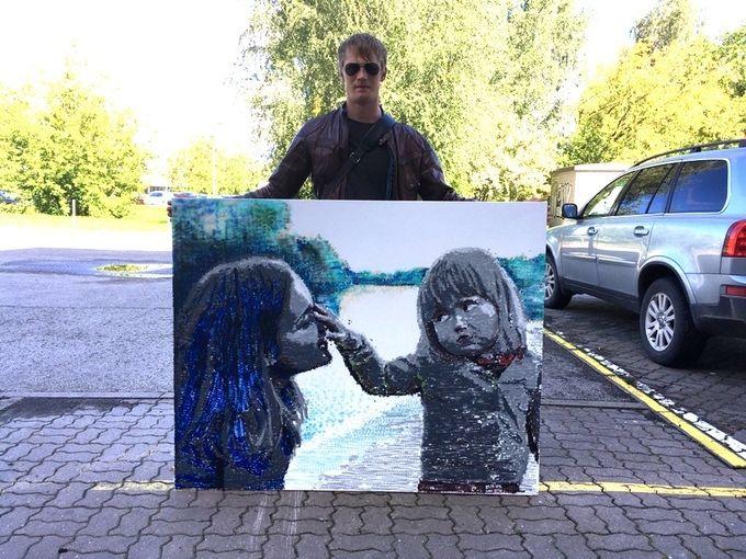 SprayPrinter - Cum convertesti desene digitale in picturi artistice direct de pe smartphone