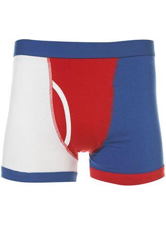 Colour Block Underwear by TOPMAN