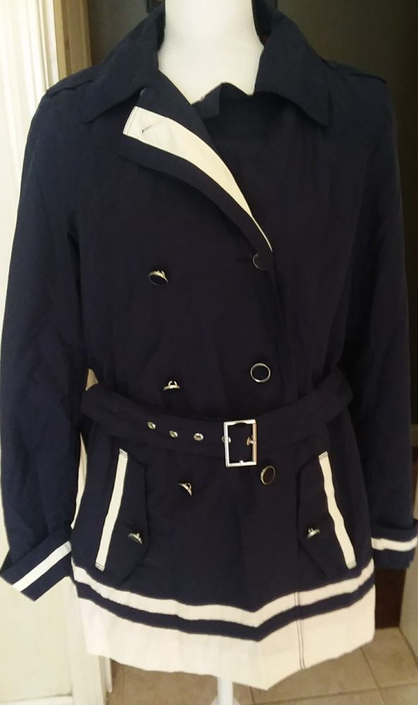 NWT Tommy Hilfiger Womens Jacket/wind breaker Nautical Look Size M | Clothing, Shoes & Accessories, Women's Clothing, Coats & Jackets | eBay!