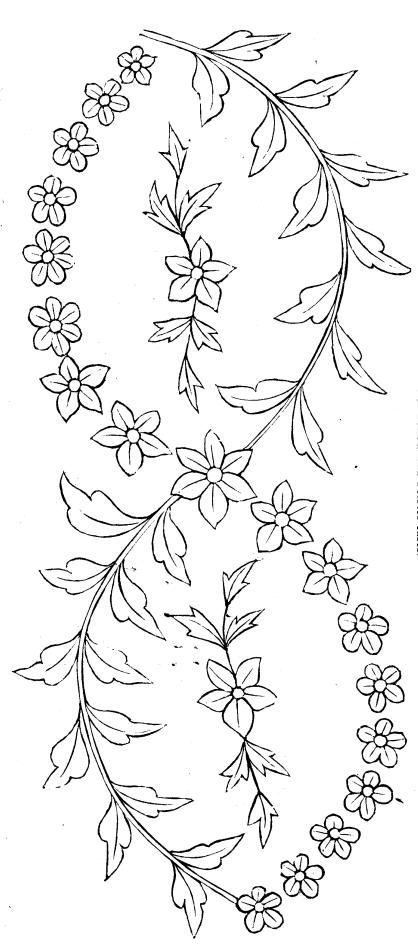 vintage embroidery pattern free pattern