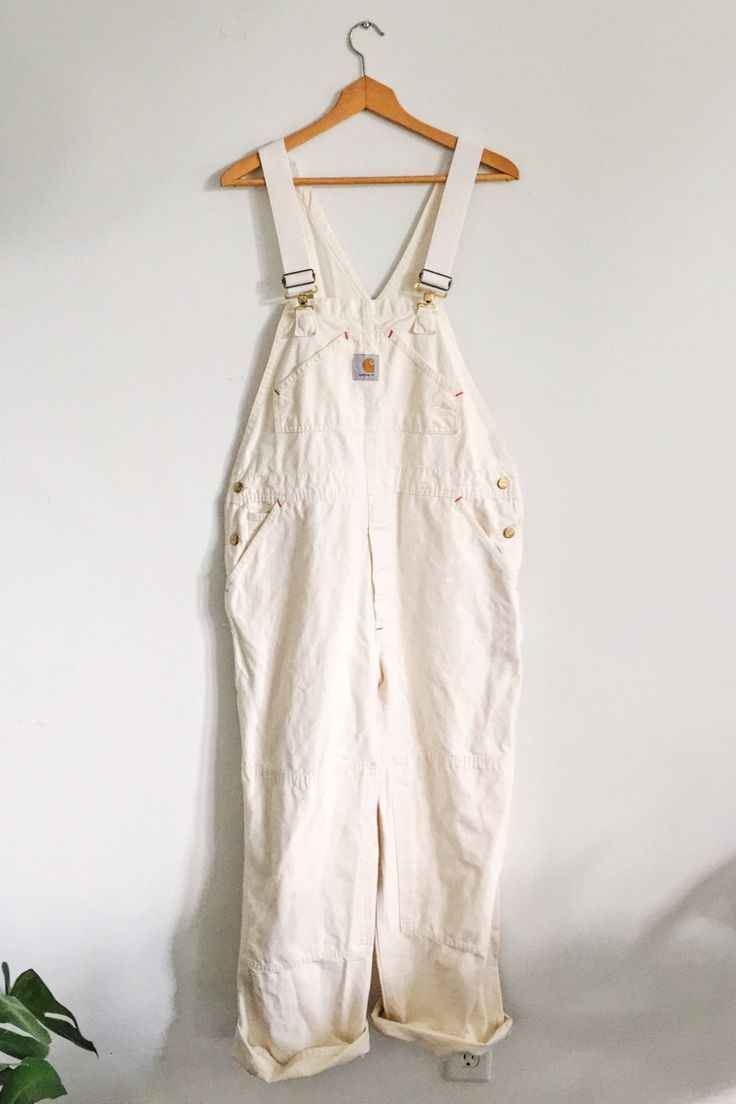 Vintage Painters Overalls Carhart Cotton Canvas by LiminalCollective on Etsy