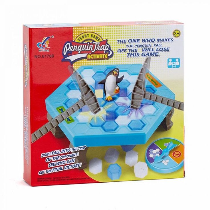 Penguin Toys Game Family Party Children With Parents Funny Puzzle Kids Funny New #Unbranded