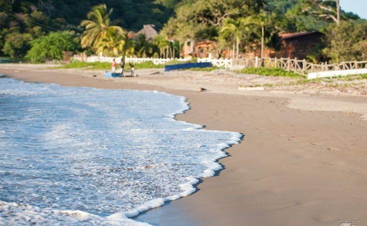 La plage de Marsella tout prs de San Juan del Sur au Nicaragua