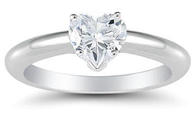 1/2 Carat Heart Shaped Diamond RingDiamond Engagement Rings, Heart Shape Diamonds, Heart Solitaire, Diamonds Rings, Heart Engagement, Heart Diamonds, Diamonds Heart, Carat Heart, Diamonds Engagement