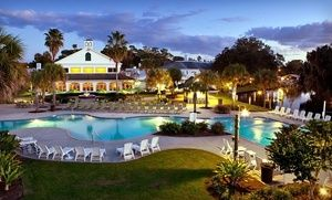 Groupon - Stay at Plantation on Crystal River in Crystal River, FL, with Dates into December in Crystal River, FL. Groupon deal price: $77