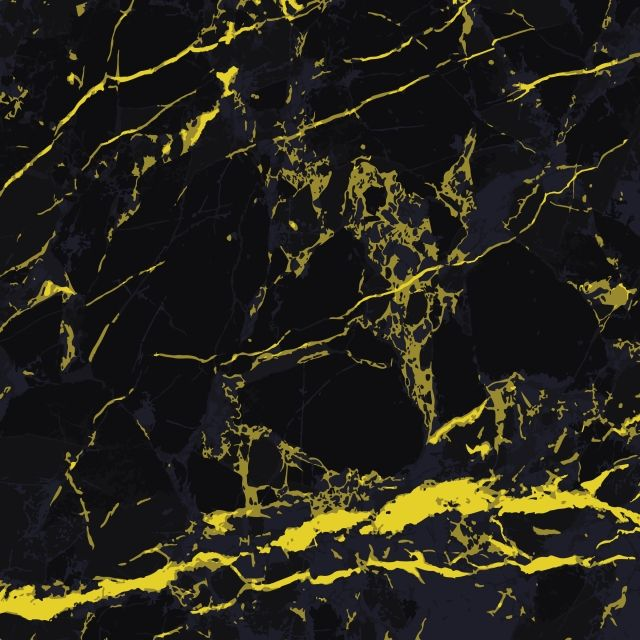 Elegant Black And Yellow Marble Texture Design In 2020 Black N