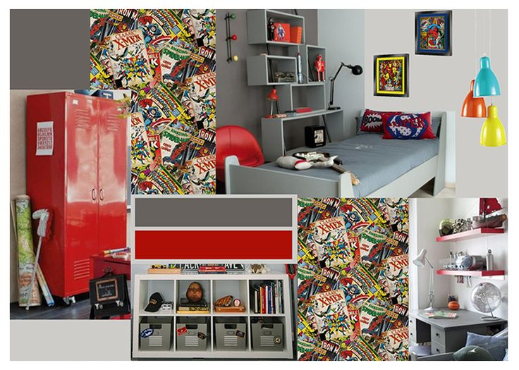 Decoration chambre garcon super heros 20170927213537 for Decoration chambre super heros