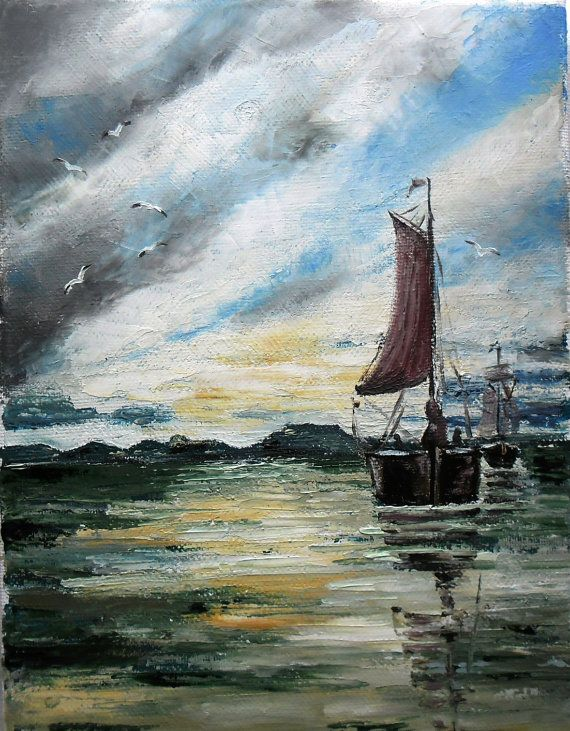 Art  Oil Painting  Original Painting by kezulegsajat on Etsy