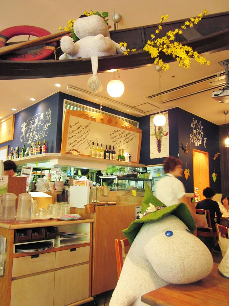Cute Travels: Moomin Bakery and Café - Tokyo, Japan