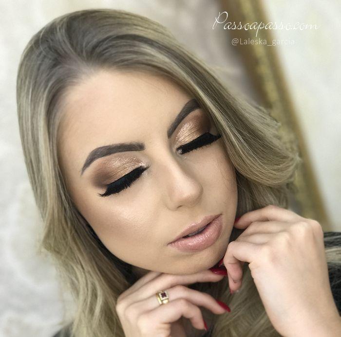 Maquiagem clean glamourosa – Laleska Garcia