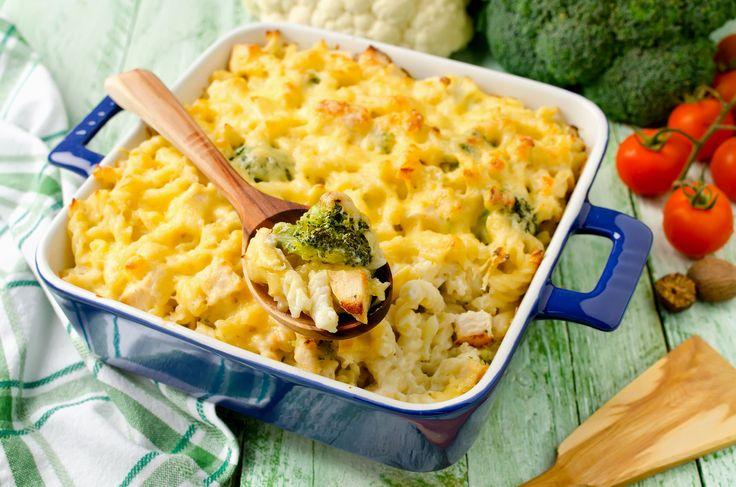 Duplasajtos brokkolis rakott tészta - Isteni vacsora 40 perc alatt