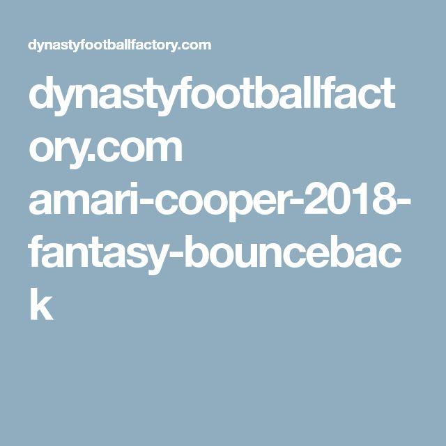 dynastyfootballfactory.com amari-cooper-2018-fantasy-bounceback
