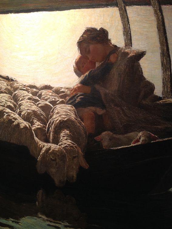 museo segantini giovanni - in mostra a Milano