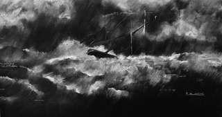 Грифельная доска как холст: инсталляции Тациты Дин — Look At Me — Посты — поток «Честное черно-белое»