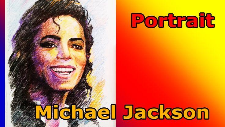 Drawing Michael Jackson. Earth song