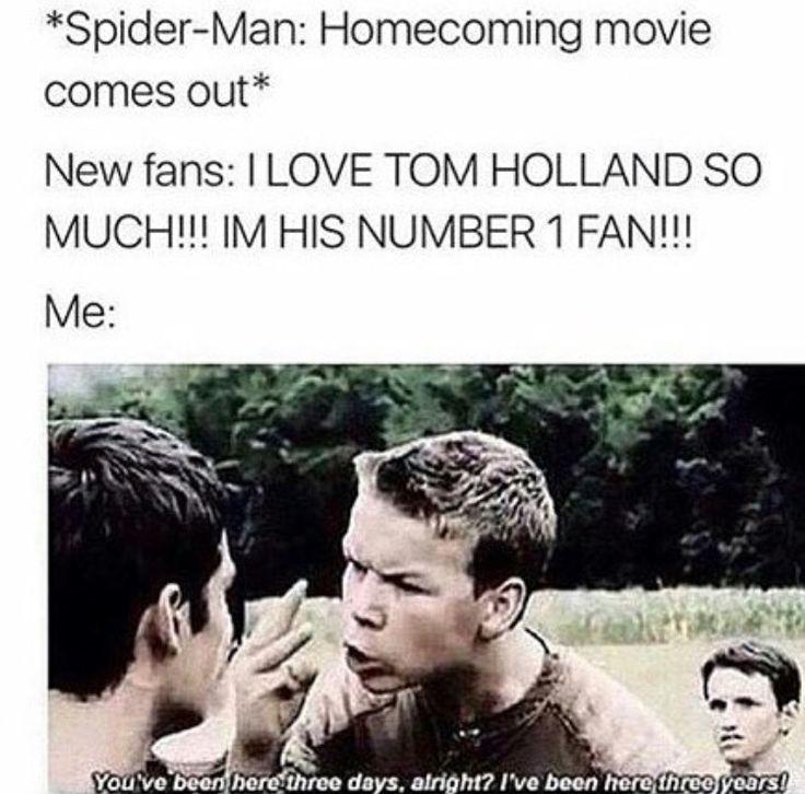 Image result for tom holland meme faces