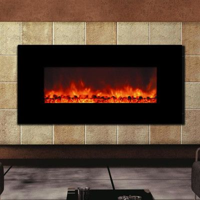 Y Decor Enhancer Wall Mount Electric Fireplace