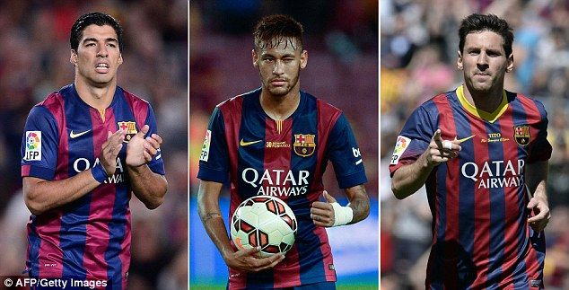 Real Madrid's defence will have to cope with this stunning attacking trio for Luis Enrique's Barcelona