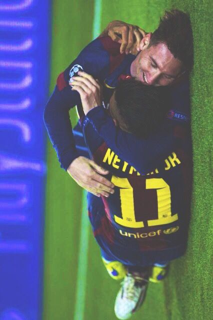 Leo Messi and Neymar Junior.... I miss those old days