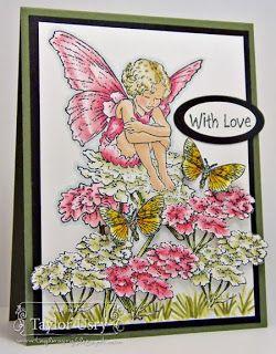 @SpectrumNoir #crafterscompanion Fairy Outfit & Wings: PP6, PP5, PP4, PP3, PP1 Fairy Skin: FS7, FS4, FS3 Fairy Hair: GB8, EB2, EB1 White Flowers: DG2, DG1, GG1 Pink Flowers: PP5, PP4, PP2 Flower Stems: DG4, CG2, DG1 Butterflies: GB5, CT4, CT2, CT1