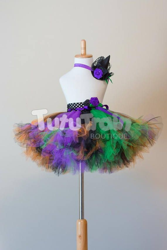 Wicked Witch Tutu Skirt Witch Costume Halloween Costume