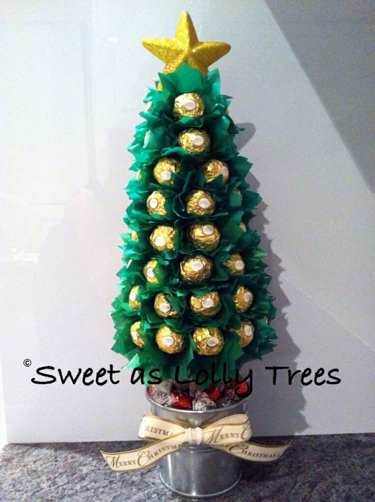 Ferrero Rocher Christmas lolly tree | Lolly Trees #2 ...