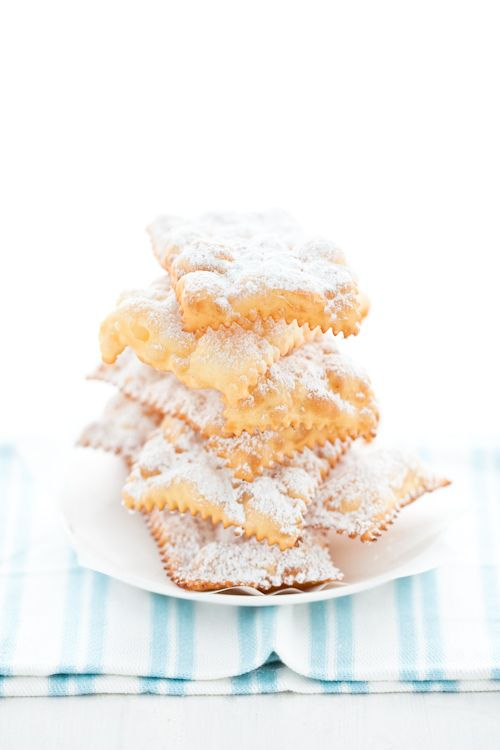 Chiacchiere di Carnevale. my mom made these last week, they are amaaazing!
