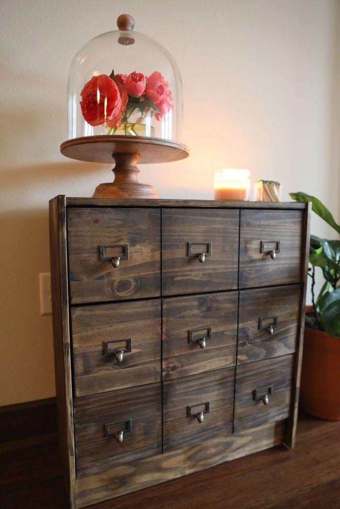 Transform An Ikea Rast Dresser Into A Diy Apothecary Chest
