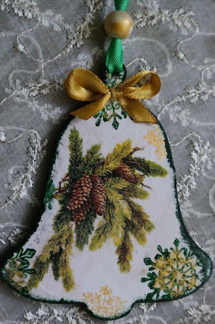 Świąteczne zawieszki w zieleni