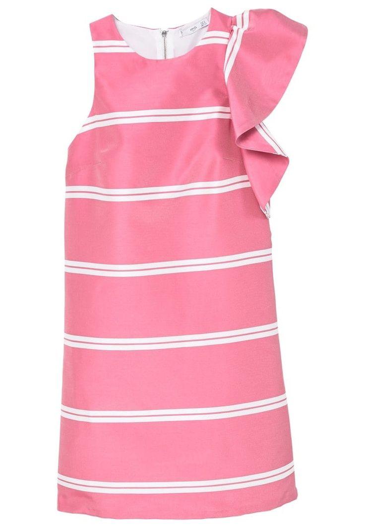 Mango RAIN Freizeitkleid pink Sale bei Zalando.de