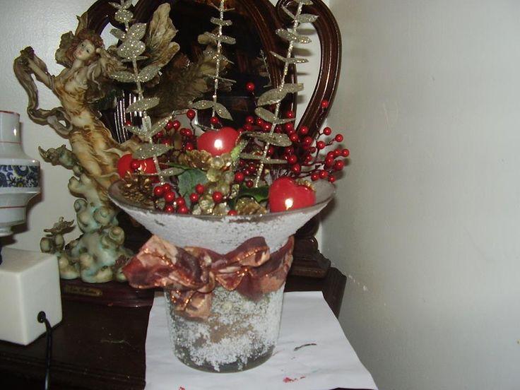 Centro de Natal para minha mesa