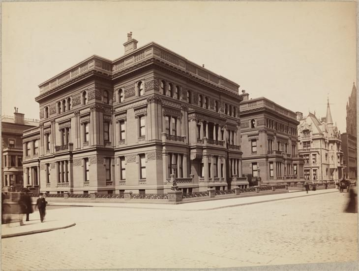William H Vanderbilt Mansion 5th Avenue