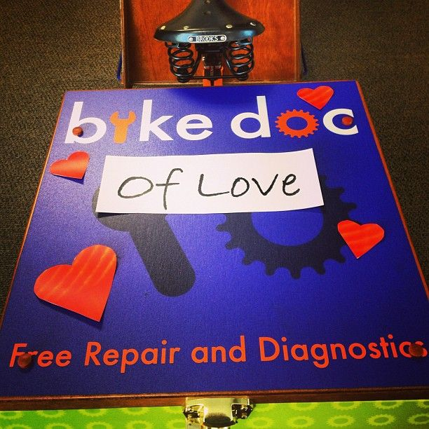 The Bike Docs know the way to our hearts, through our bicycles!