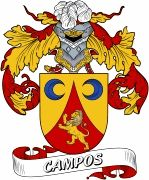 De Campos Spanish Coat Of Arms www.4crests.com #coatofarms #familycrest #familycrests #coatsofarms #heraldry #family #genealogy #familyreunion #names #history #medieval #codeofarms #familyshield #shield #crest #clan #badge #tattoo #crests #reunion #surname #genealogy #spain #spanish #shield #code #coat #of #arms