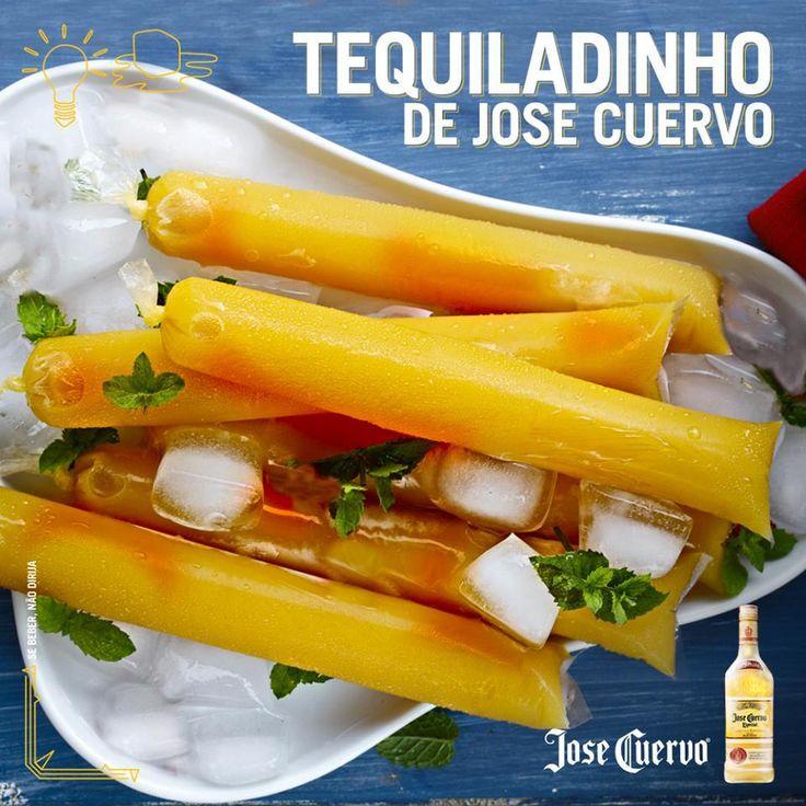 Receita de sacolé de Jose Cuervo pra alegrar seu fim-de-semana