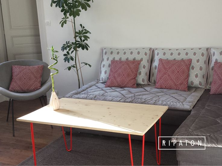 M s de 1000 ideas sobre table basse originale en pinterest tablero de mesa - Table basse originale ...