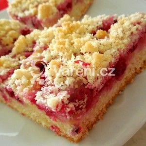 Fotografie receptu: Hrnkový rybízový koláč