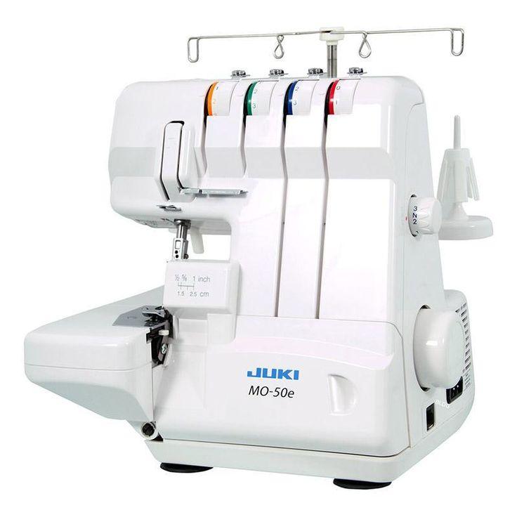 Maszyna do szycia JUKI MO 50E - porównanie cen w 4 sklepach. Zobacz inne Maszyny do szycia, najtańsze i najlepsze oferty, opinie.