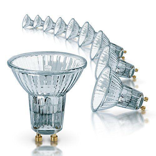 Osram 64820FL Lot de 10 ampoules halogènes HALOPAR16 avec réflecteur et culot GU10, 35 W, 35°, 230 V: Consommation énergétique : 35…