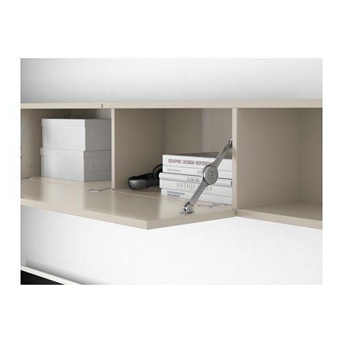 Mostorp Wall Shelf High Gloss Beige In 2018 Haus Shelves Ikea