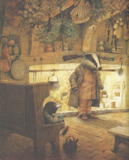 The Wind in the Willows - Kenneth Graham. illustrations - Robert Ingpen