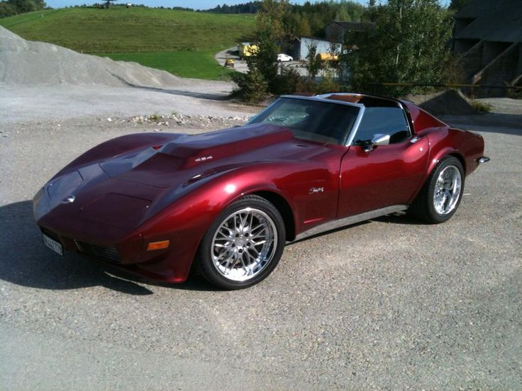 1973 Corvette Coupe. Photographed one of these (not this one though) today. A HOT car!
