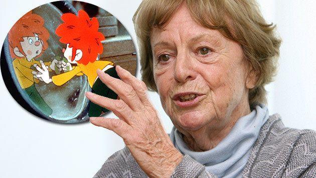 Pumuckl-Erfinderin Ellis Kaut verstorben (Bild: APA/dpa/ Peter Kneffel, ARD) - Die Pumuckl-Erfinderin Ellis Kaut ist tot. Sie starb nach langer Krankheit am frühen Donnerstagmorgen im Alter von 94 Jahren in einem Pflegeheim nahe München, wie ihre Tochter Uschi Bagnall mitteilte.