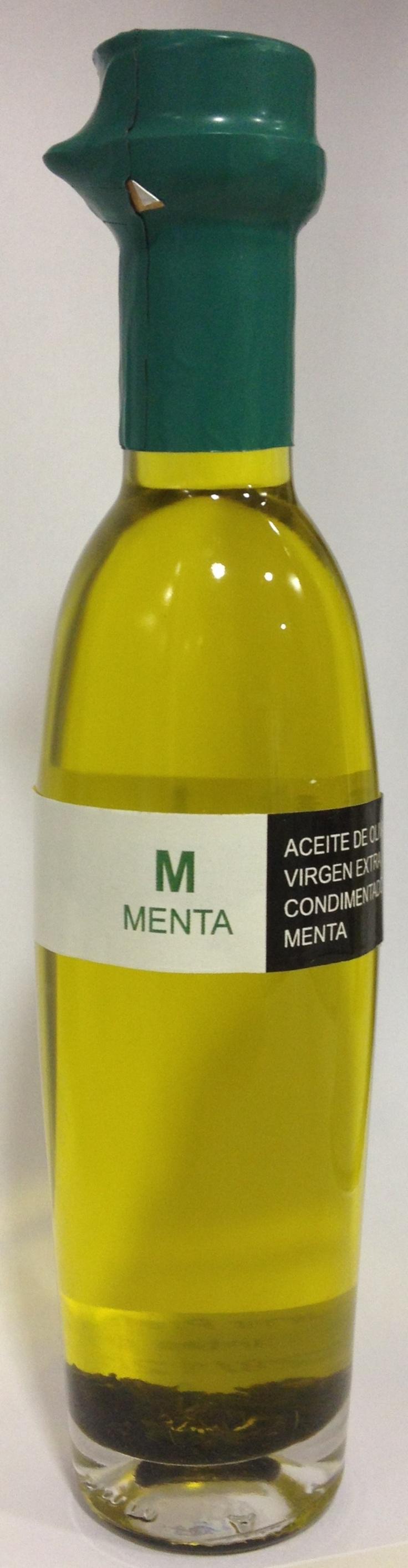 Aceite de oliva virgen extra ecostean con menta!